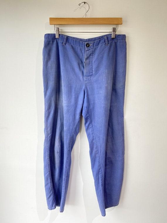 VIntage European Workwear Blue Pants
