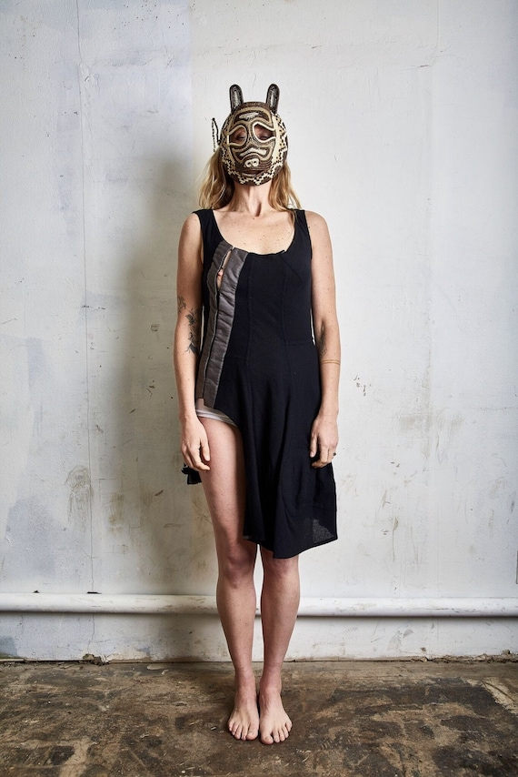 Vintage Comme des Garçons Cashmere Dress c. 1998
