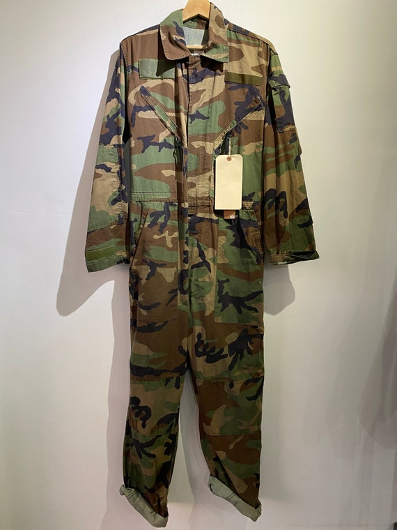 Vintage Camouflage Coverall