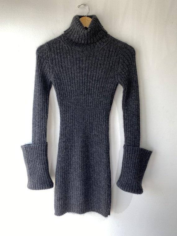 Yohji Yamamoto Knit Mod Mini Dress