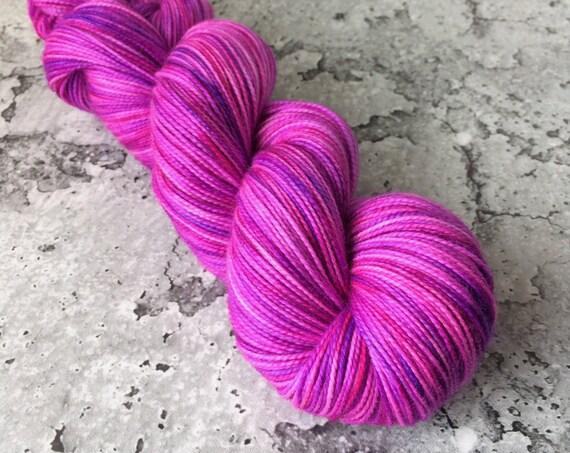 RAINBOW KETTLE Voodoo #11 - 80/20 Merino Sock Hand-dyed Yarn