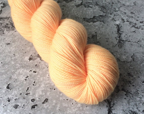 MANGO LASSI - 80/20 Merino Sock Hand-dyed Yarn