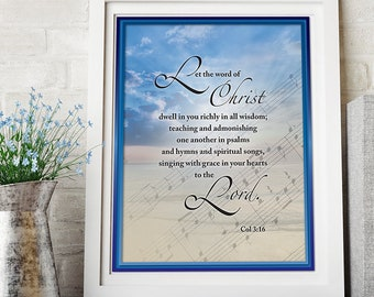 Hymns and psalms | Etsy