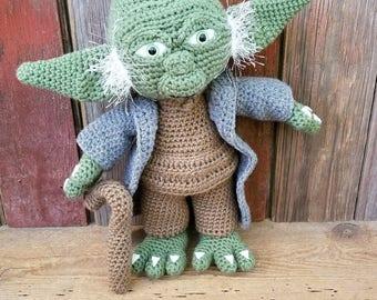 Crochet Yoda Doll