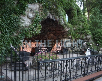 The Grotto at Notre Dame - fine art photography