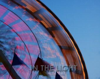 Spinning - County Fair, Ferris Wheel - fine art photography