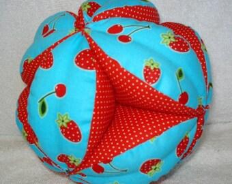 Cherry Berry doux facile-Catch bébé/enfant en bas âge embrayage Ball - cadeau de Shower de bébé