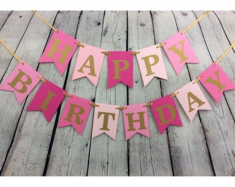 birthday banner personalized etsy