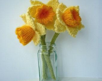 Daffodils Knitting Pattern