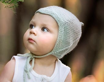 Baby Pixie Hat Knitting Pattern - RIVER