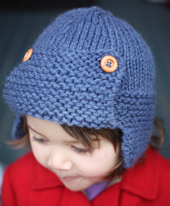 Aviator Hat Pattern PDF Knitting Pattern CORY  ee42f1bc22d