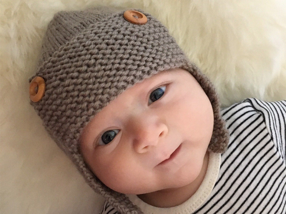 Aviator Hat Knitting Pattern Baby Aviator Hat Pattern for