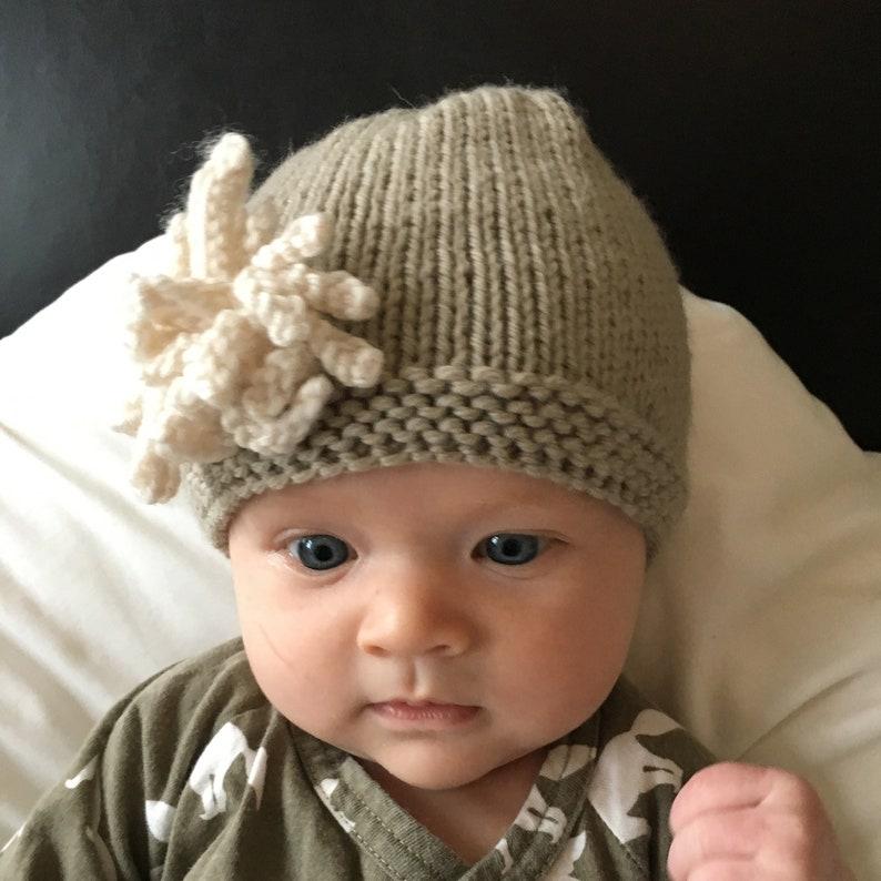 ff7aa1a8121 Hat Knitting Pattern Baby and Child sizes AMELIA