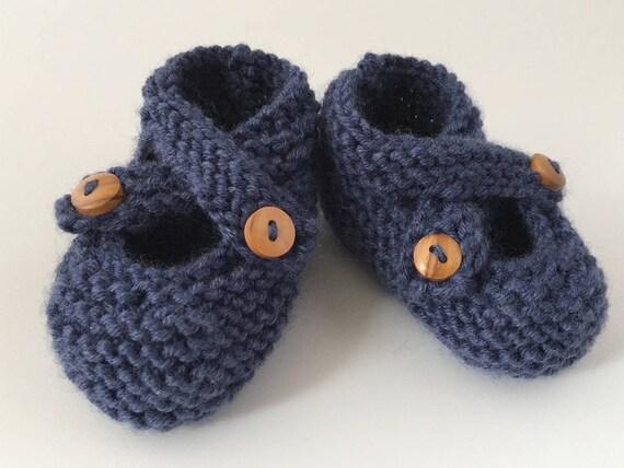 bf4fc146f541 Knitting Pattern Baby Booties PDF Knitting Pattern Baby
