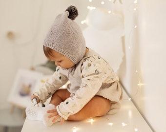 Baby Hat Knitting Pattern, Pixie Hat Pattern - ELLERY