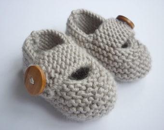 Baby Shoes Knitting Pattern - KEELAN