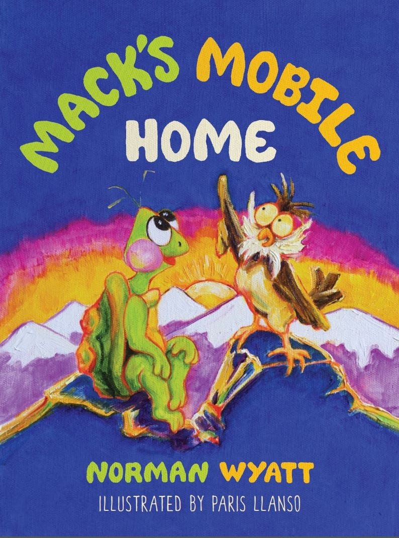 Mack's Mobile Home Children's Book image 0