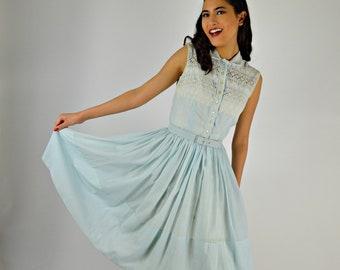 dc6e01ba20e Vintage Spring Dress