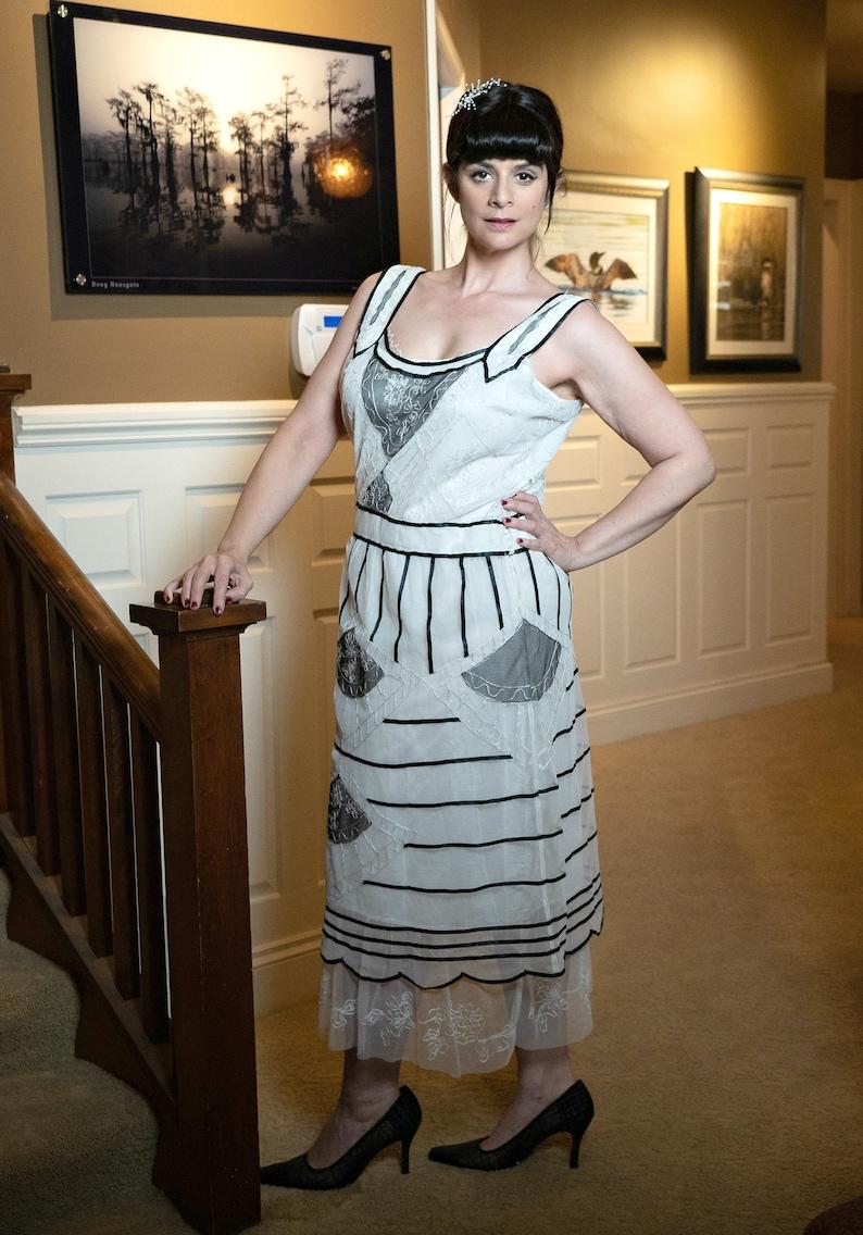 Titanic Costume, Edwardian Style Dress, 1910 Dress, Plus Size Long Dress,  Molly Brown Costume Dress
