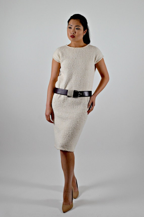 Handwoven Dress, Fall Dresses Large, Cotton Chenil