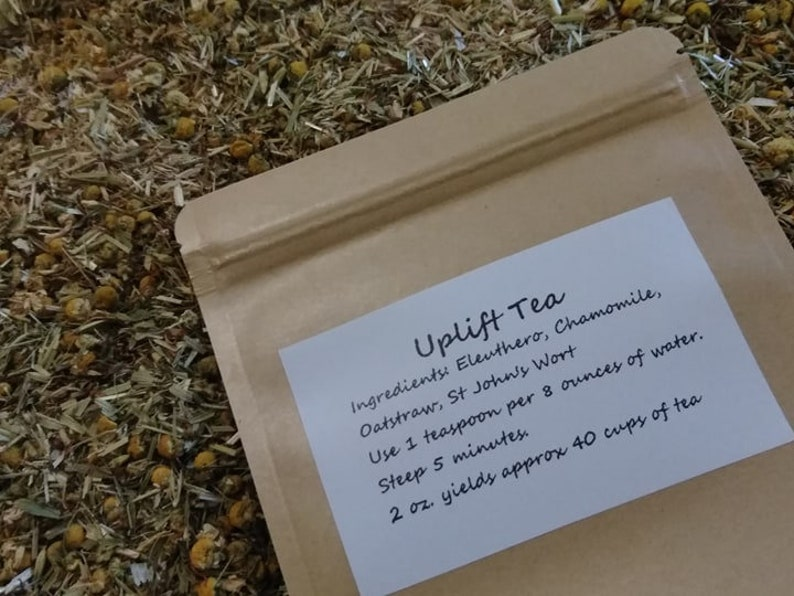 Uplift Tea Organic Herbal Tea Support for those who image 0