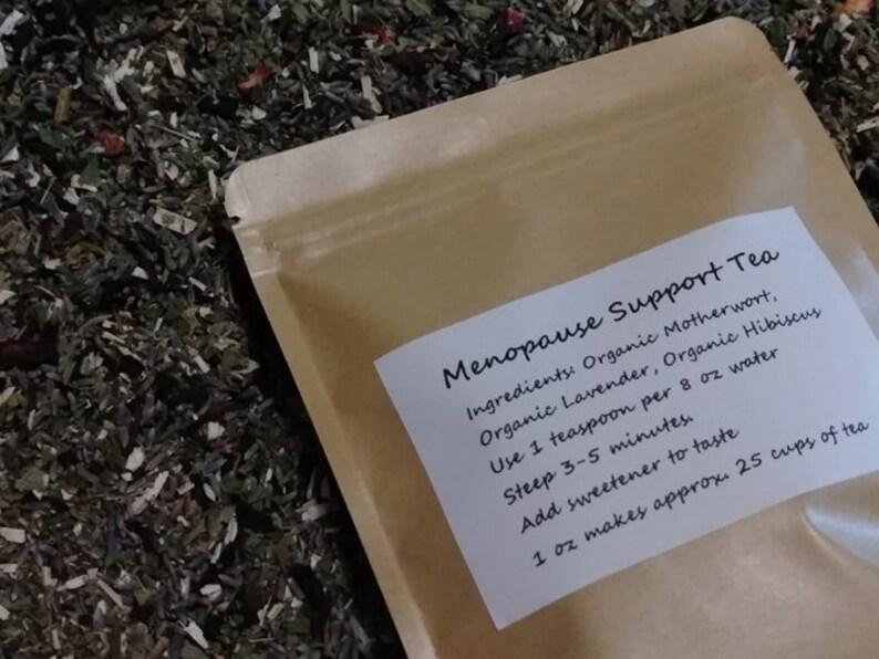 Menopause Support Tea Organic Herbal Tea Motherwort image 0