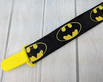 Bat Pacifier Clip  Batman Universal Binky Holder