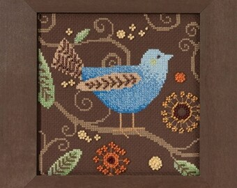 Mill Hill Out on a Limb Blue Bird DM30-1811 Debbie Mumm Counted Cross Stitch Kit
