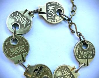 EK Original - Cut The Key Bracelet - Vintage Master Key Bracelet