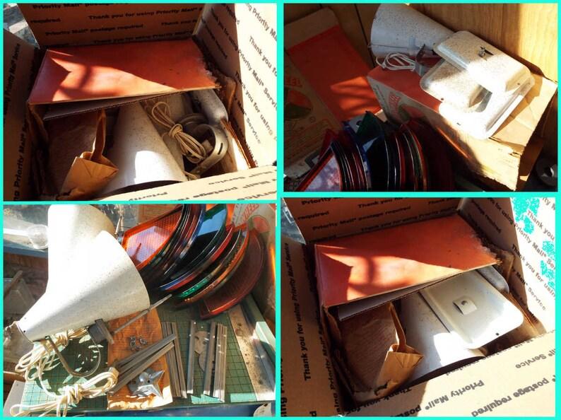 Holly Time Color Wheel Parts Lenses 3 Lamp Housings Repair