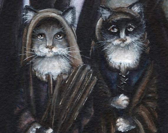 Colony of Cats II 5x7 Fine Art Print
