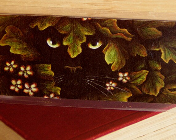 Black Cat Greenman Bookmark