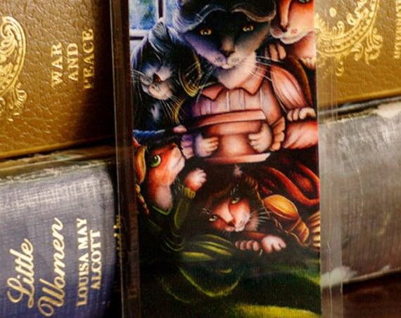 Little Women Cats Louisa May Alcott Bookmark