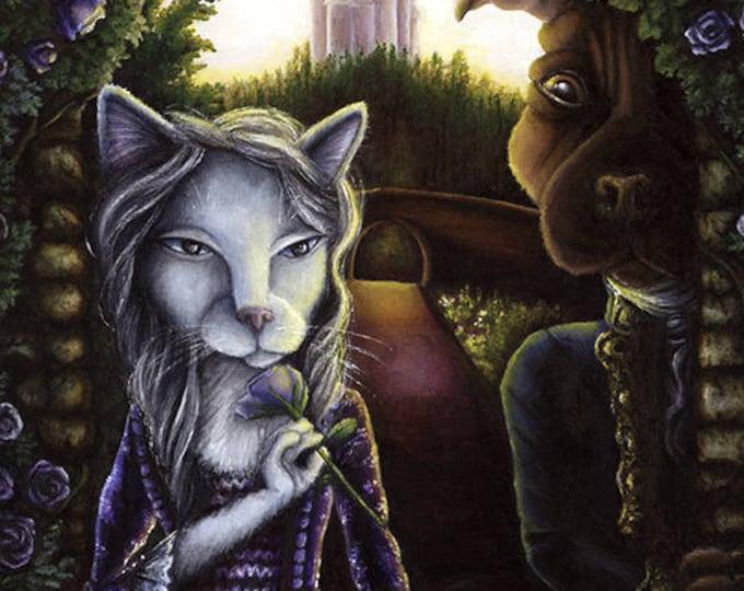 Beauty and the Beast 8x10 Fine Art Print
