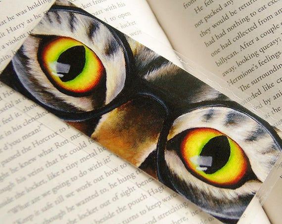 Harry Cat Wearing Glasses Bookmark