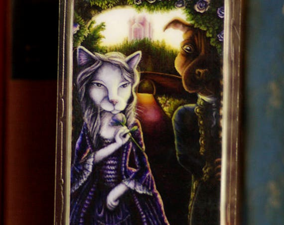 Beauty and Beast Bookmark