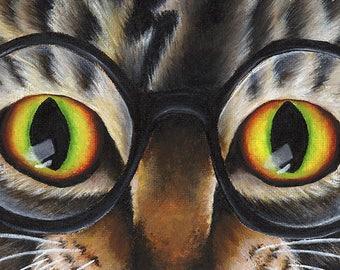 Cat Named Harry 5x7 Fine Art Print