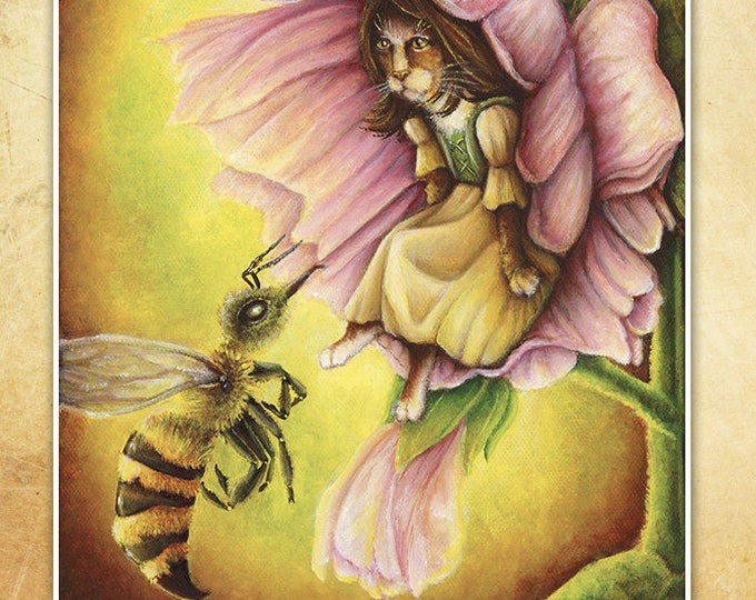 Thumbelina Fairy Tale 8x10 Fine Art Print
