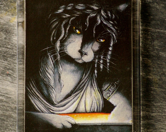 Pandora Cat Greek Mythology Fridge Magnet