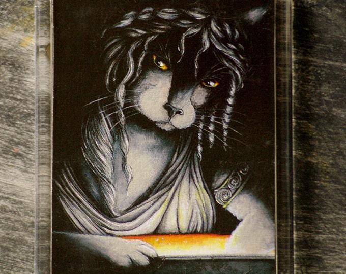 Pandora Cat Greek Mythology Fridge Magnet