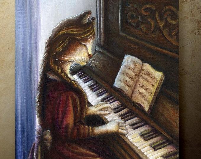 Beth March, Little Women 8x10 Fine Art Print