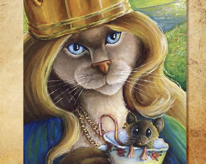 Queen Alice 8x10 Fine Art Print