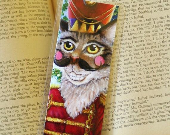Nutcracker Prince Cat Bookmark
