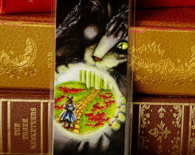 Wicked Witch Cat Wizard of Oz Bookmark