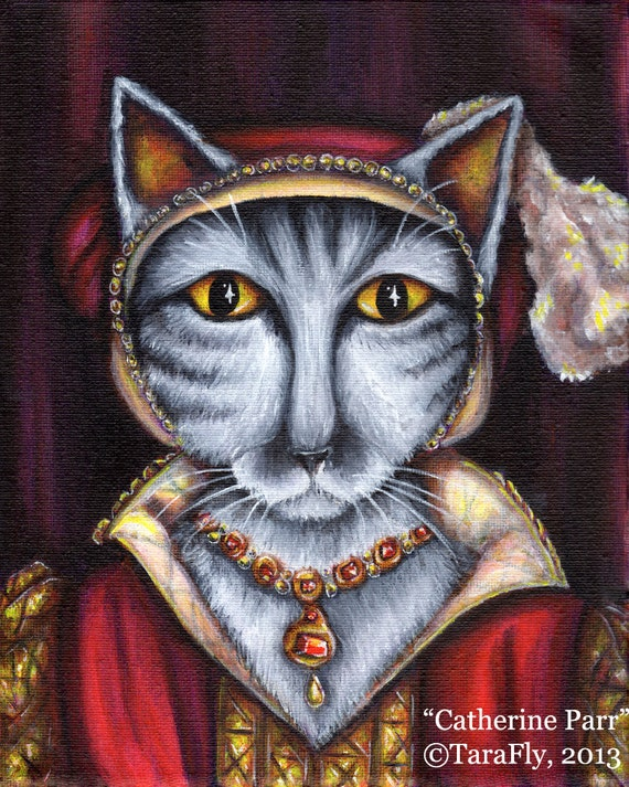 Catherine Parr 8x10 Fine Art Print