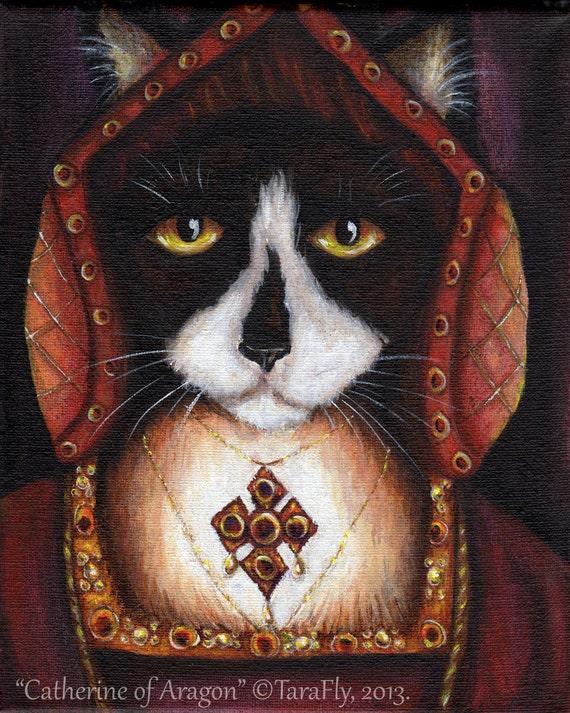 Catherine Aragon 8x10 Fine Art Print