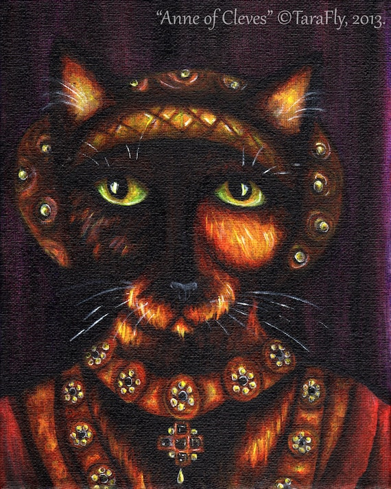 Anne of Cleves 5x7 Fine Art Print