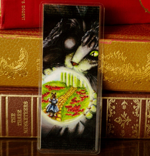 Wicked Witch Cat Wizard of Oz Bookmark