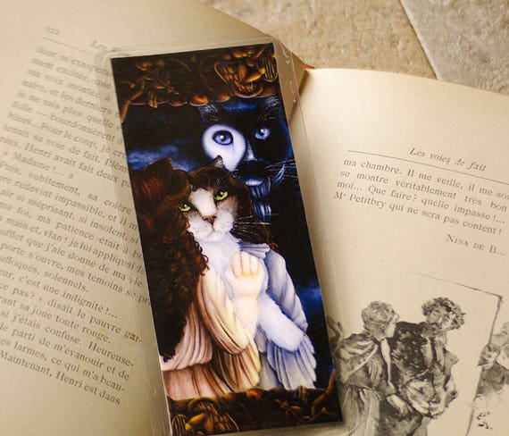Phantom of the Opera Cats Gaston Leroux Bookmark