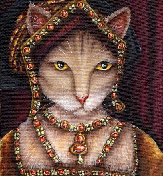 Jane Seymour Cat 8x10 Fine Art Print